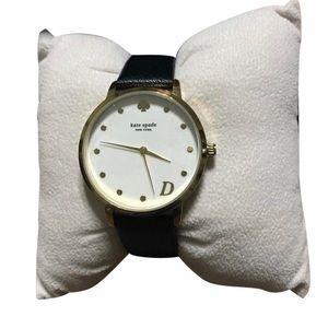 Kate Spade NY leather Women's wristwatch